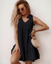 Obleka - koda 7206 - črna