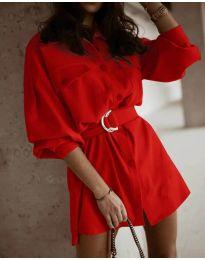 Obleka - koda 6461 - rdeča