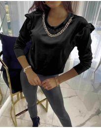 Bluza - koda 6189 - črna