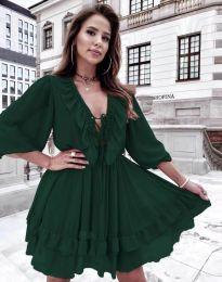 Obleka - koda 5648 - zelena