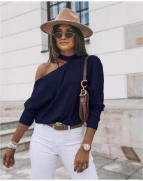 Bluza - koda 5618 - temno modra
