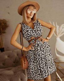 Obleka - koda 5488 - 2 - večbarvna