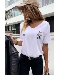Majica - koda 3021 - 1 - bela