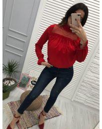 Bluza - koda 0626 - 6 - rdeča