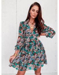 Obleka - koda 3161 - 2 - večbarvna