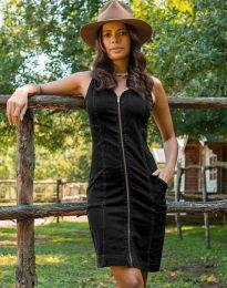 Obleka - koda 7735 - 2 - črna