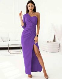 Obleka - koda 4511 - vijolična