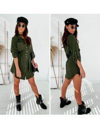 Obleka - koda 976 - olivna