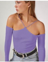 Bluza - koda 8063 - vijolična