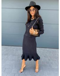 Obleka - koda 1030 - črna