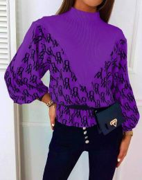 Bluza - koda 3829 - vijolična
