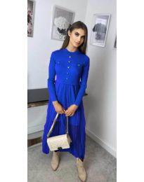 Obleka - koda 185 - modra