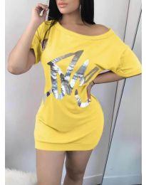 Obleka - koda 1100 - rumena