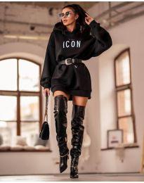 Obleka - koda 9333 - črna
