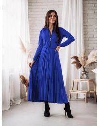 Obleka - koda 1544 - temno modra