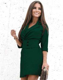Obleka - koda 1356 - temno zelena