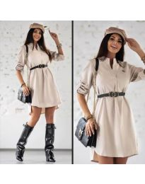 Obleka - koda 9601 - bež