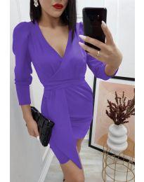Obleka - koda 0515 - vijolična