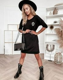 Obleka - koda 7089 - 1 - črna