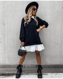 Obleka - koda 5516 - črna