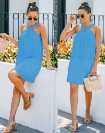Obleka - koda 9103 - modra