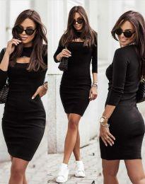 Obleka - koda 7376 - 2 - črna