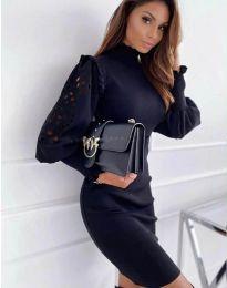 Obleka - koda 1638 - 3 - črna
