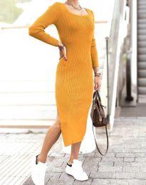 Obleka - koda 2326 - gorčica