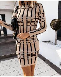 Obleka - koda 0258 - bež