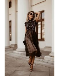 Obleka - koda 8090 - črna