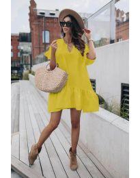 Obleka - koda 6868 - rumena