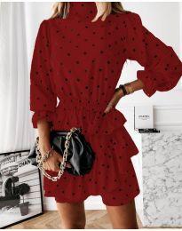 Obleka - koda 3665 - rdeča