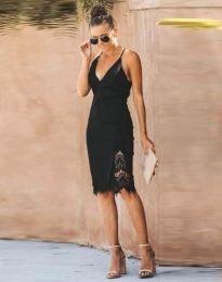 Obleka - koda 4580 - 1 - črna
