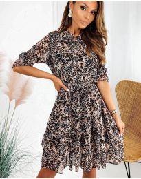Obleka - koda 8877 - 3 - večbarvna