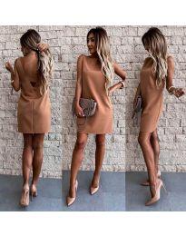 Obleka - koda 1156 - rjava