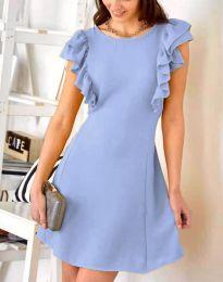Obleka - koda 7111 - svetlo modra