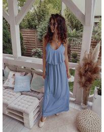 Obleka - koda 635 - svetlo modra
