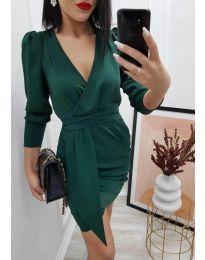 Obleka - koda 0515 - temno zelena