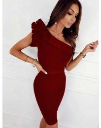Obleka - koda 2049 - 1 - bordo