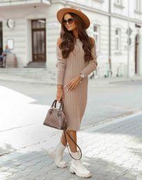 Obleka - koda 8203 - puder