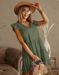 Obleka - koda 6224 - olivna