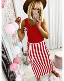 Obleka - koda 5544 - rdeča