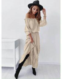 Obleka - koda 1317 - bež