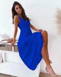 Obleka - koda 4807 - temno modra