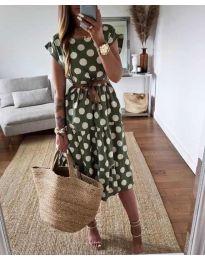 Obleka - koda 1415 - zelena