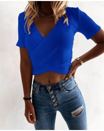 Majica - koda 1102 - temno modra