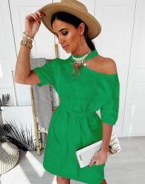 Obleka - koda 5848 - 6 - zelena