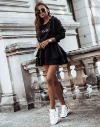 Obleka - koda 12051 - črna