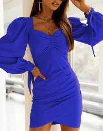 Obleka - koda 0363 - modra