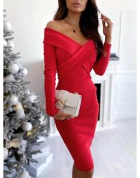 Obleka - koda 6130 - rdeča